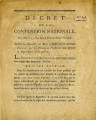 Décret de la Convention nationale, du 9 mai 1793 … [Decree of the national Convention, May 9...