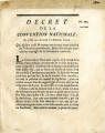 Décret de la Convention nationale, du 15 mai 1793 … [Decree of the national Convention, May 15...