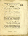 Décret de la Convention nationale, du 21 juin 1793 … [Decree of the national Convention, June...