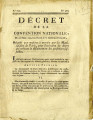 Décret de la Convention nationale, du 28 mars 1793 … [Decree of the national Convention, March...