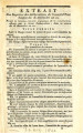 Extrait des registres des délibérations du Conseil-d'Etat … [Extract of the registers of the...