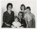 Pastor Harm A. Weber and family