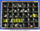 Abridged mineral and rock collection