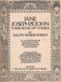 Jane, Joseph & John: their book of verses