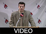 Tim Buckley press conference