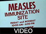 Ball State University measles immunization