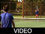 Recreational basketball and tennis