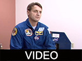 NASA astronauts Rick Linnehan and Chuck Brady interviews
