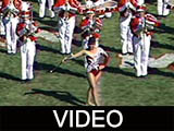 Ball State University Marching Band Europe Year halftime show