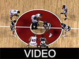 Ball State University Cardinals men's basketball, 1992, catwalk view