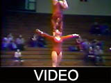 Polish National Championship Sports Acrobatic Team at Ball State University, 1979