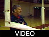 Ball State University men's volleyball highlights and interviews, 1989