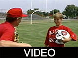 Ball State University football season ticket commercial, 1990