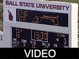 Ball State University Cardinals vs. University of Connecticut Huskies football, 2000