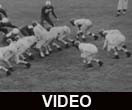 Ball State Teachers College Cardinals vs. Hanover College Panthers football, 1953
