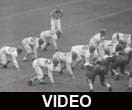 Ball State Teachers College Cardinals vs. Hanover College Panthers football, 1954