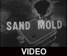 Sand mold casting demonstration