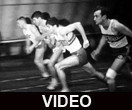 Indoor track and field meet at Ball State University, 1968