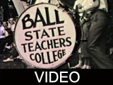 Ball State Teachers College campus footage