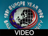Ball State University Europe year 1991-1992 highlights