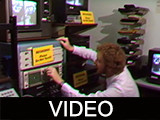 Ball State University telecommunications footage