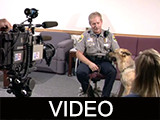 Mike Milbourn interview regarding his singing police dog Nord