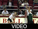 Ball State University Cardinals vs. Marshall University Thundering Herd women's volleyball, 1998