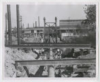 Continental Steel pipe bridge construction