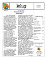 IOLUG news 2012-03, Vol. 28, No. 01