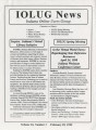 IOLUG news 1998-02-28, Vol. 16, No. 01