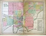 Map of Rushville, Indiana