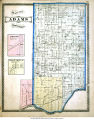 Map of Adams Township (Cass County, Indiana), including Hoover and  Twelve Mile P. O., Indiana