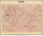 Map of Salem Township (Delaware County, Indiana)
