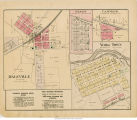 Daleville, Reeds, Cammack, and York Town, Indiana maps