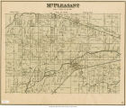 Map of Mt. Pleasant Township (Delaware County, Indiana)