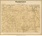 Map of Washington Township (Delaware County, Indiana)