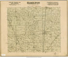 Map of Hamilton Township (Delaware County, Indiana)