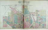 City of South Bend, Indiana and environs map
