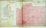 Map of Brown Township (Montgomery County, Indiana), including Wingate (platted as Pleasant Hill)...