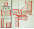 La Crosse, Monroe, Orchard Grove, and Oak Grove, Indiana maps