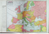 Map of reconstructed Europe