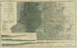 Geological map of the coal region of Indiana, sheet B