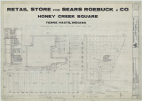Honey Creek Square shopping center/Sears Roebuck & Co. retail store at Honey Creek Square...