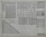 Wiley High School gymnasium working drawings