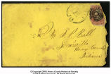 Envelope addressed to Samuel P. Ball