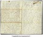 Letter from William G. Rader to George Washington Rader