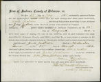 Application for deceased soldiers' county bounty - Affidavit of Maria Jackson, for Jesse W. Jackson