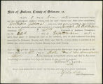 Application for discharged soldiers' county bounty - Affidavit of William Jones, for William Jones