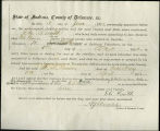 Application for deceased soldiers' county bounty - Affidavit of Eli Smith, for H. L. Keever