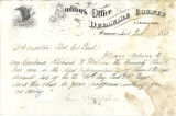 Application for discharged soldiers' county bounty - Affidavit of J. W. Wingate, for James S....